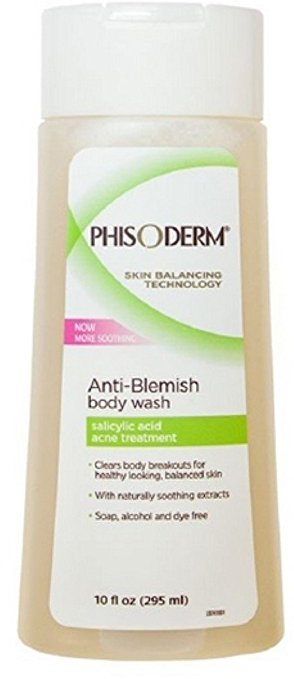 pHisoderm back acne treatment