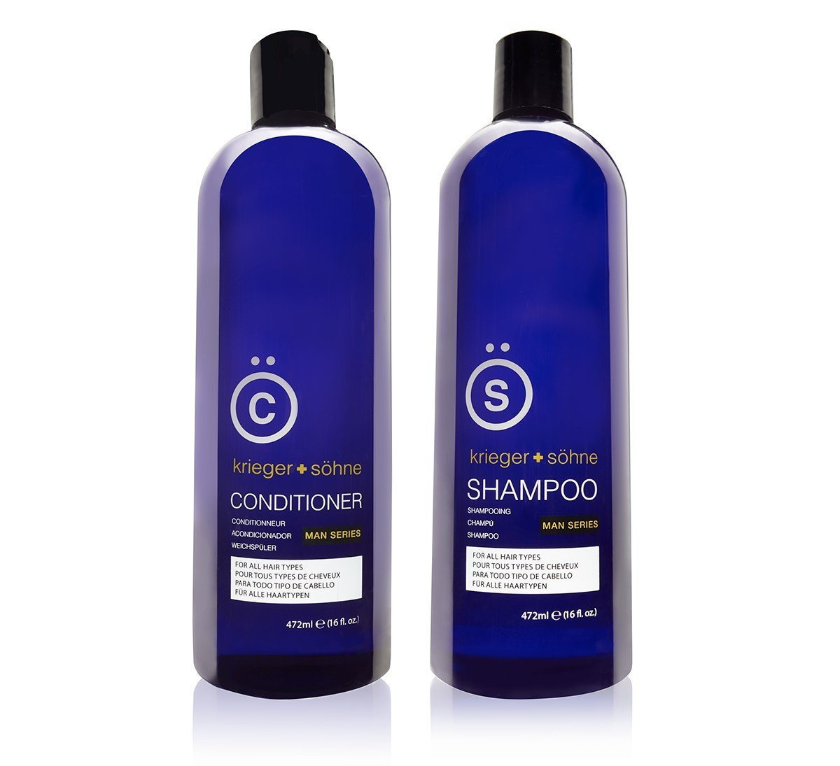 K + S Salon Quality Men's Dandruff Shampoo