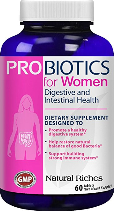 Natural Riches best probiotic for women