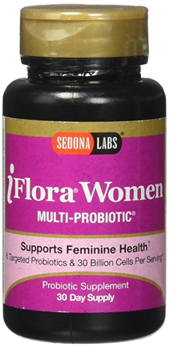 Sedona Labs Iflora Probiotic for Women Capsules