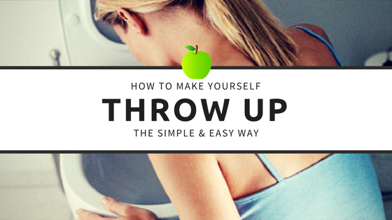 How to Make Yourself Throw Up Safely, Simply and Easily
