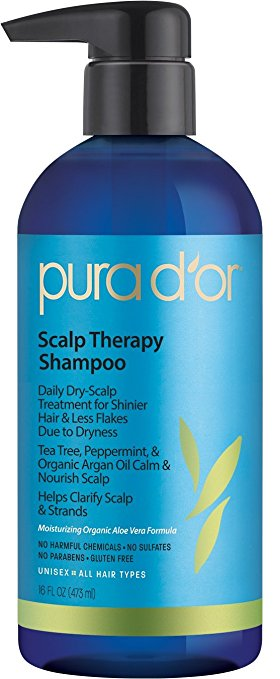 PURA D'OR Dry Scalp Therapy Shampoo