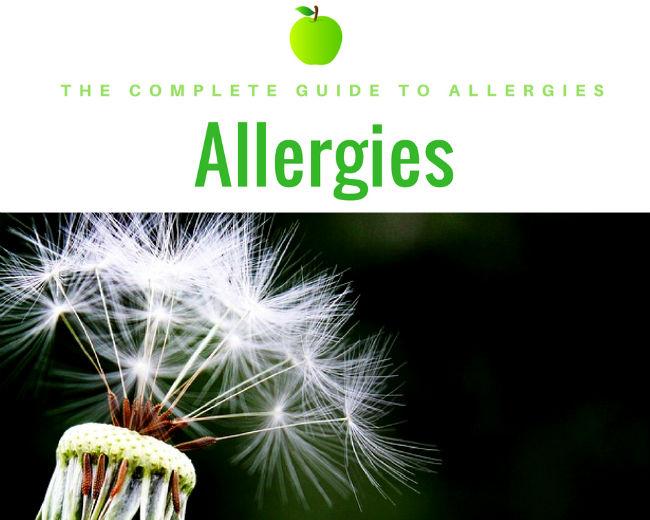 list of allergies