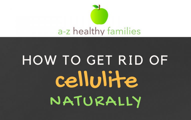 Infographic How to Get Rid of Cellulite Fast and Naturally